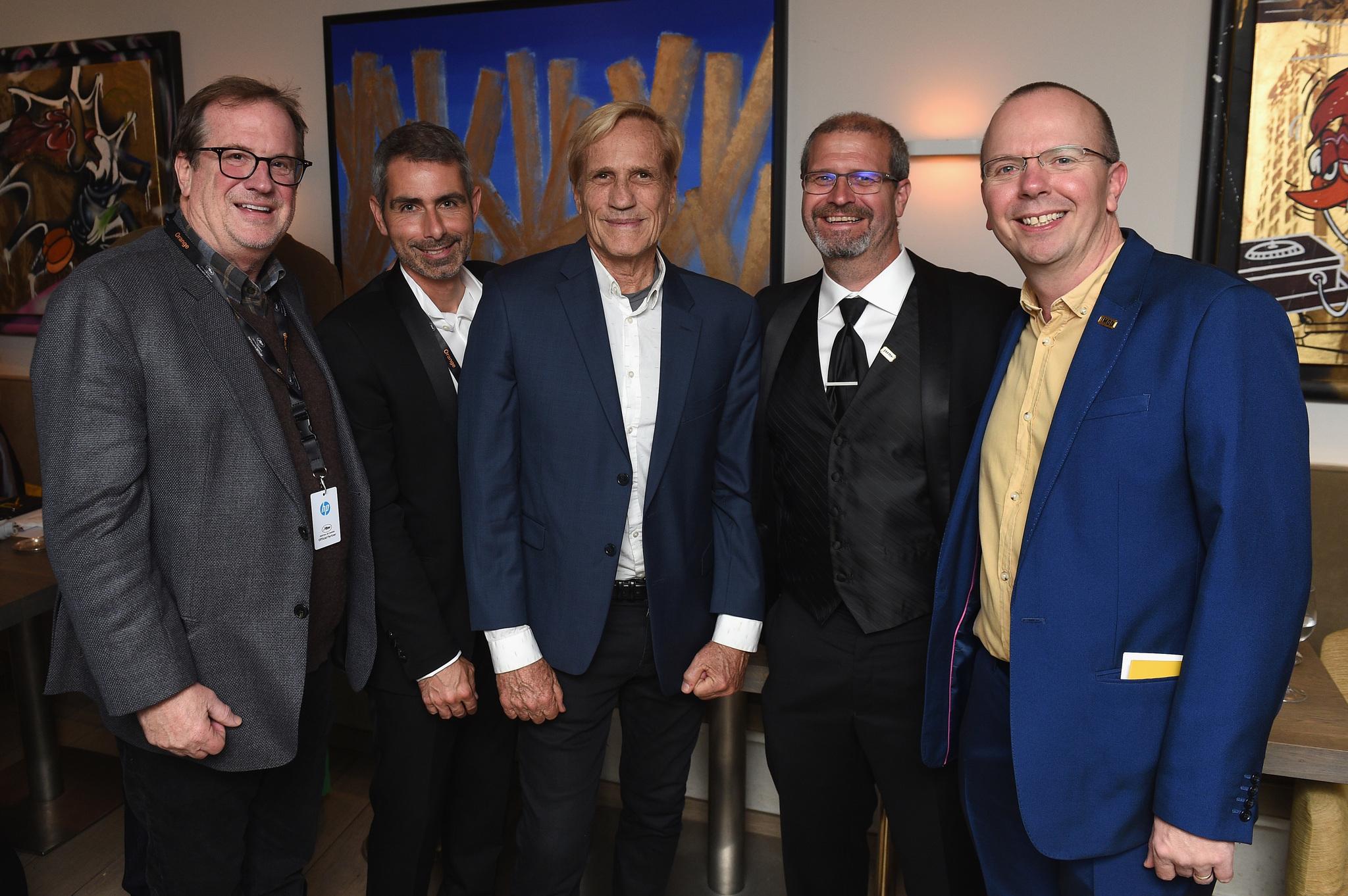 Randal Kleiser, Col Needham, Pete Hammond, and Keith Simanton