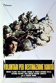 Volontari per destinazione ignota Poster