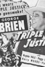 Triple Justice (1940) Poster