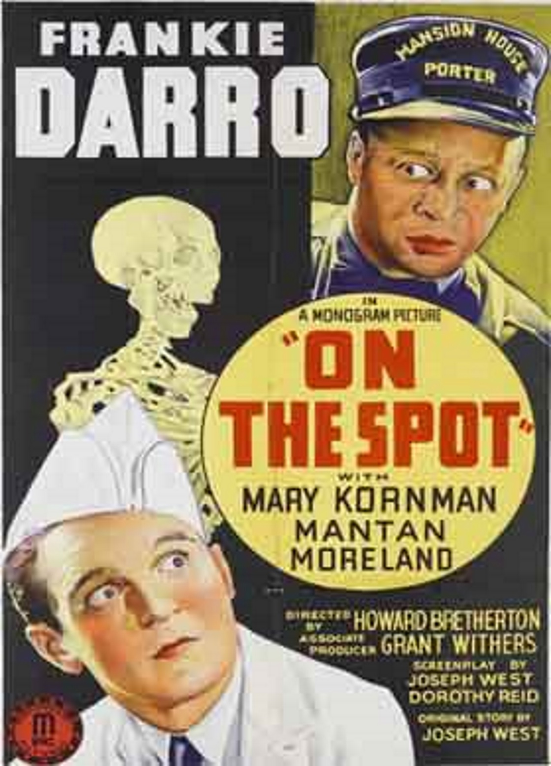 Frankie Darro and Mantan Moreland in On the Spot (1940)