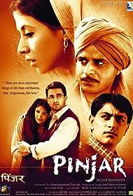 Urmila Matondkar, Manoj Bajpayee, Sanjay Suri, Priyanshu Chatterjee, and Sandali Sinha in Pinjar: Beyond Boundaries... (2003)