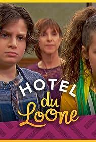 Chris Tallman, Cynthia Rube, Toby Grey, and Hayley LeBlanc in Hotel Du Loone (2018)