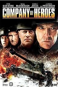 Jürgen Prochnow, Tom Sizemore, Vinnie Jones, Dimitri Diatchenko, Neal McDonough, and Chad Michael Collins in Company of Heroes (2013)