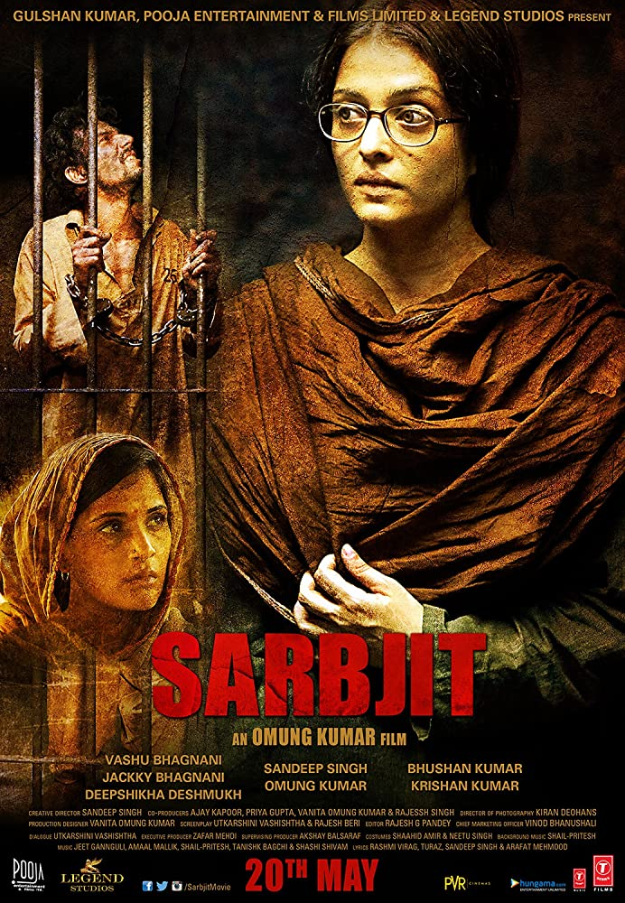 Sarbjit (2016) Hindi Movie 400MB BluRay Download