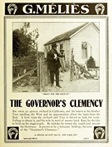 Hq movie downloads The Governor's Clemency by [HDRip]