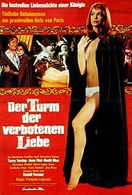 Teri Tordai in Der Turm der verbotenen Liebe (1968)