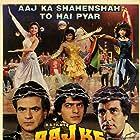 Raj Babbar, Jeetendra, Kimi Katkar, Chunky Panday, and Sonam in Aaj Ke Shahenshah (1990)