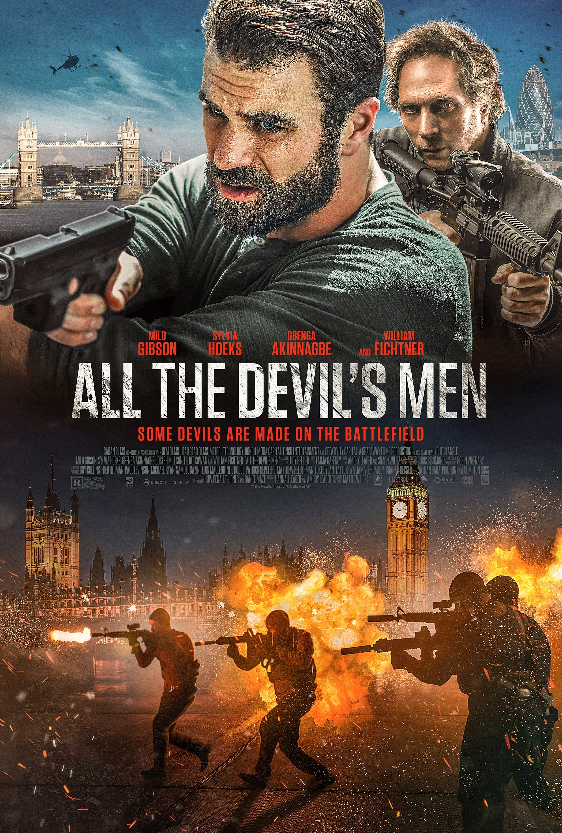 ALL THE DEVIL'S MEN (2018) online