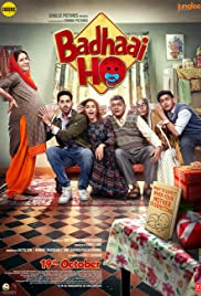 Download Badhaai Ho 2018 Hindi 720p WEB-DL x264 [900MB] [MP4] Torrent