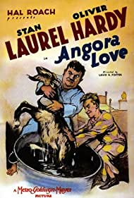 Oliver Hardy and Stan Laurel in Angora Love (1929)