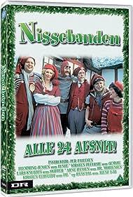 Hans Dal, Arne Hansen, Flemming Jensen, Lars Knutzon, Kirsten Lehfeldt, and Kirsten Peüliche in Nissebanden (1984)