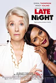 Emma Thompson and Mindy Kaling in Late Night (2019)