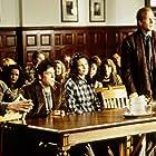 John Travolta, William Hurt, Andie MacDowell, and Robert Pastorelli in Michael (1996)