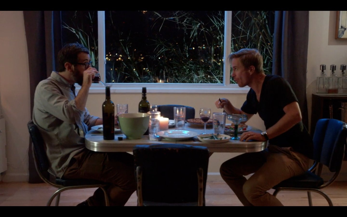 Duncan Birmingham and Cy Carter in The Bad Half (2014)
