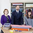 Claudia Winkleman, Patrick Grant, and May Martin in The Great British Sewing Bee (2013)