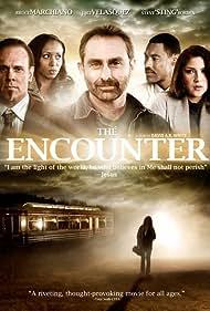 Steve Borden, Bruce Marchiano, Jaci Velasquez, Danah Davis, and Jamie Nieto in The Encounter (2010)