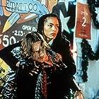 Ralph Fiennes and Angela Bassett in Strange Days (1995)