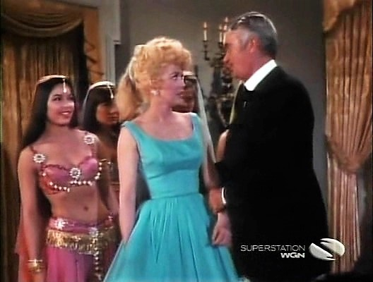 Buddy Ebsen, Nai Bonet, and Donna Douglas in The Beverly Hillbillies (1962)