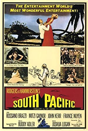 South Pacific Pelicula Poster