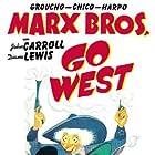 Groucho Marx, Chico Marx, and Harpo Marx in Go West (1940)
