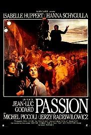 Godard's Passion Poster