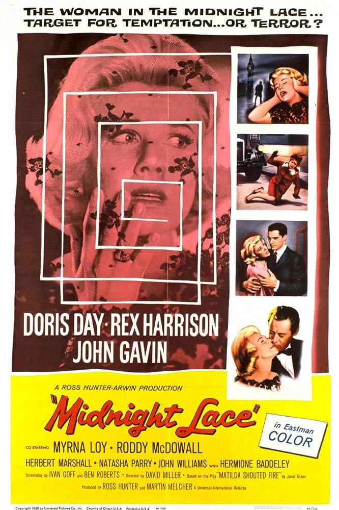 Doris Day, John Gavin, and Rex Harrison in Midnight Lace (1960)