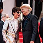 Bill Murray and Timothée Chalamet at an event for The French Dispatch (2021)
