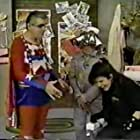 Jim Hendricks, Steve Croce, and Sarah Delson in Commander USA's Groovie Movies (1985)