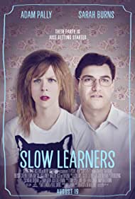 Adam Pally and Sarah Burns in Slow Learners (2015)