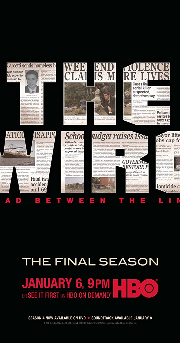 The Wire (TV Series 2002–2008) - IMDb
