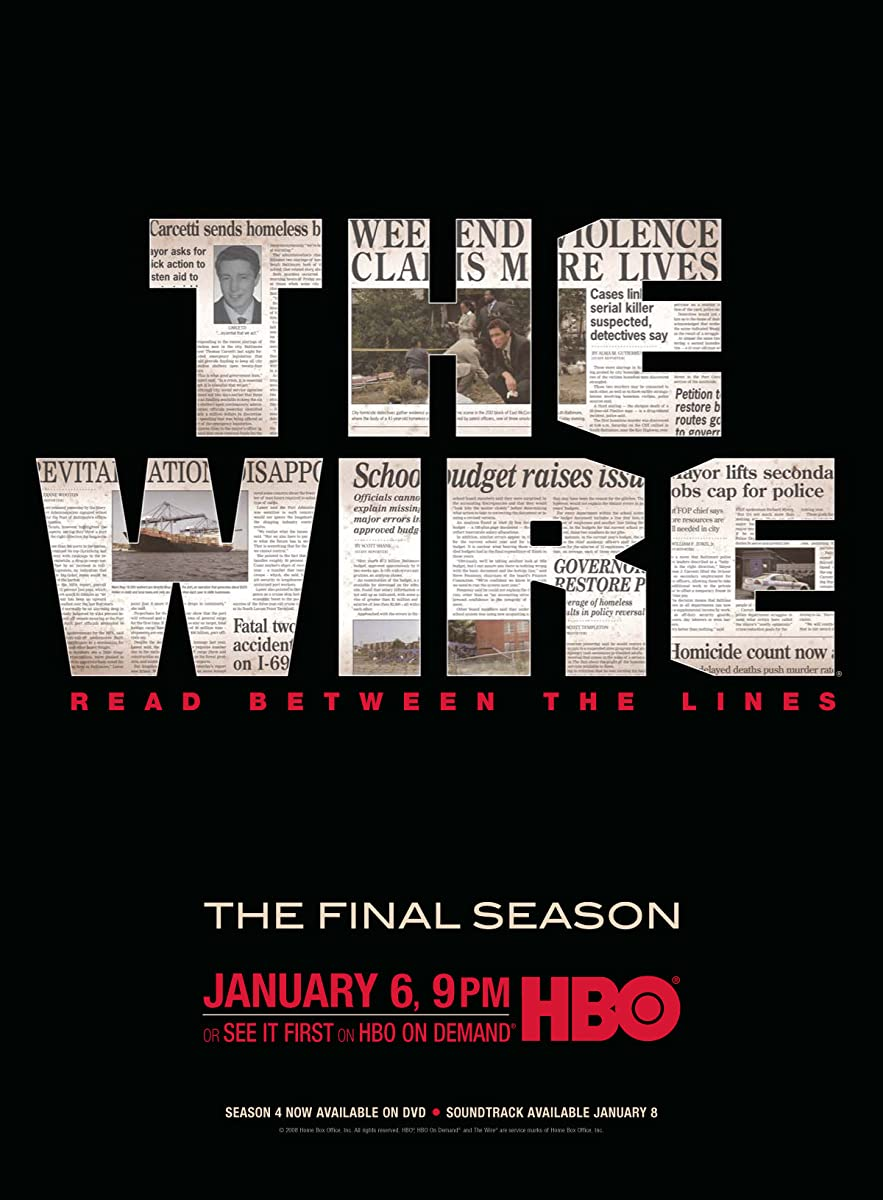 The Wire Season 5 Leaked Center 18039f Dual Fan Ground Thermostat Wiring Kit 1 2quot Imdb Rh Com Fortnite Skins