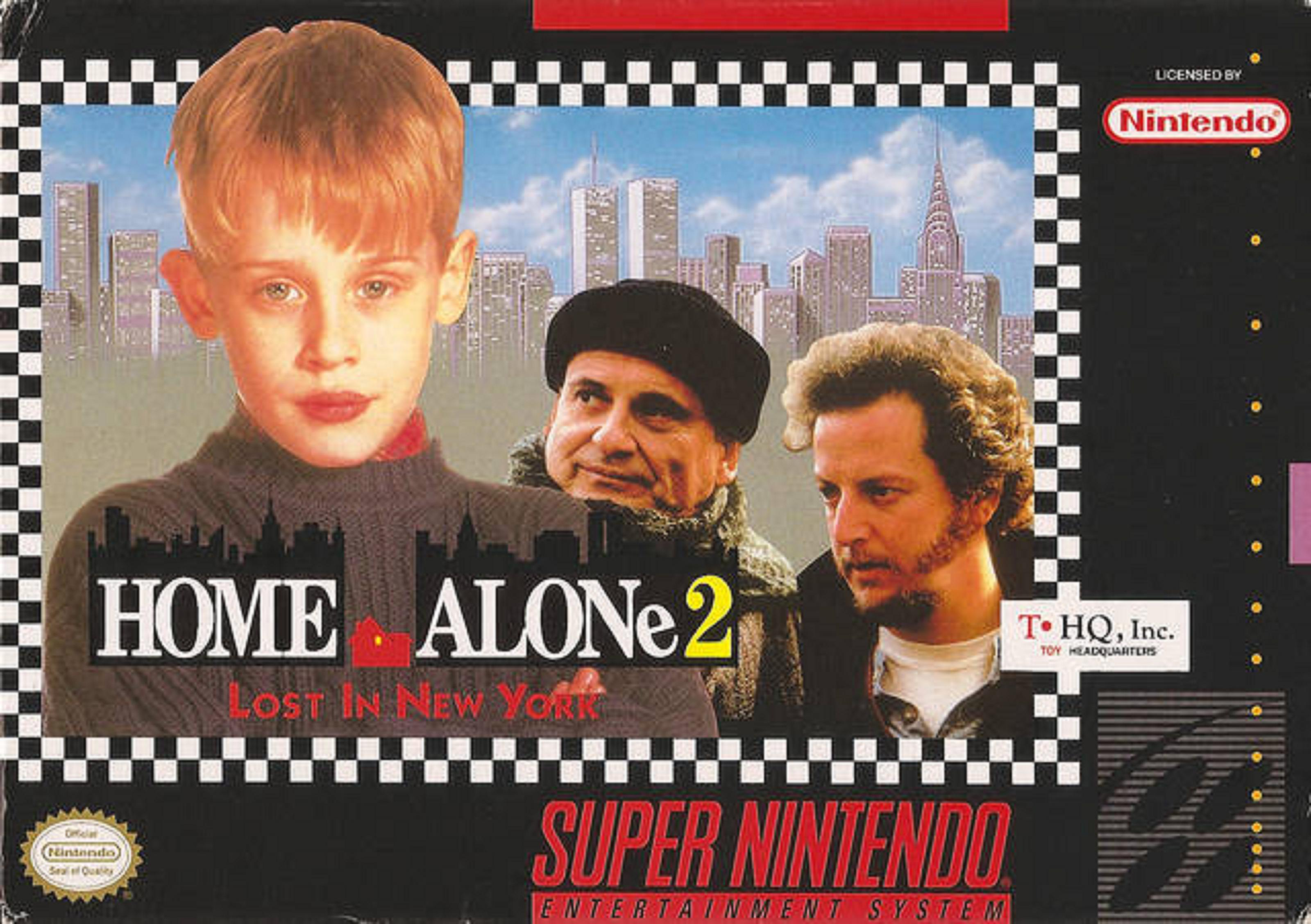 Home Alone 2 Lost In New York Video Game 1992 Imdb