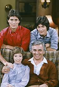 Megan Follows, D.W. Brown, John Mengatti, and Donnelly Rhodes in The Facts of Life (1979)