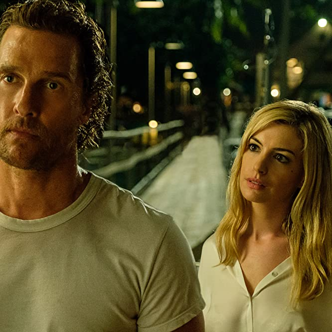 Matthew McConaughey and Anne Hathaway in Serenity (2018)