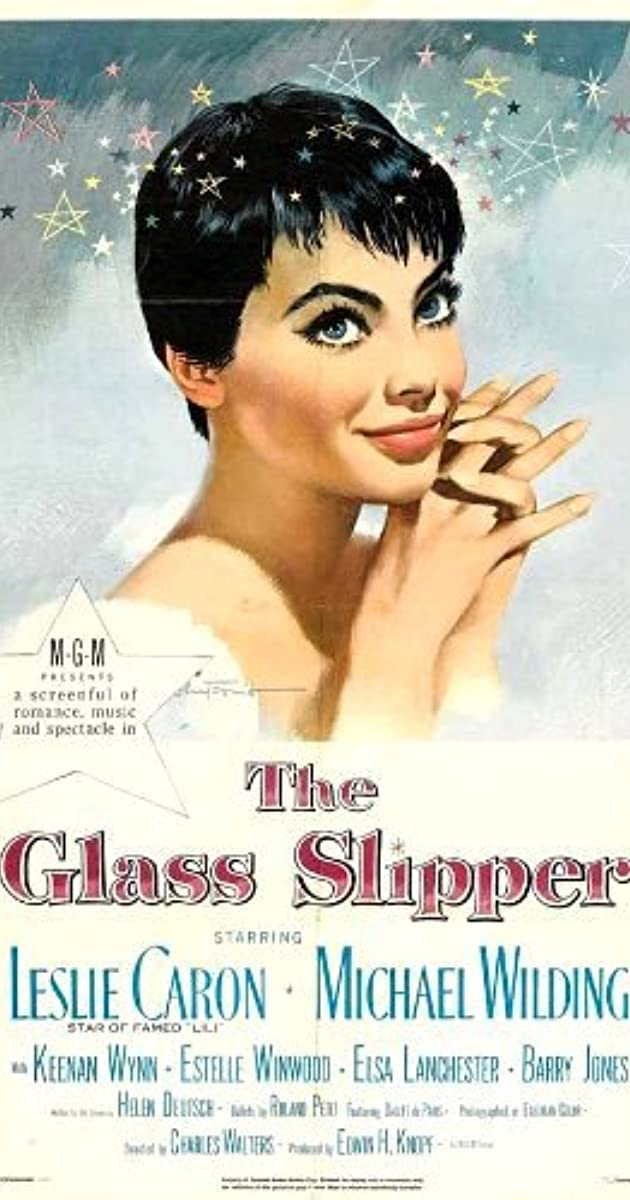 the glass slipper  1955