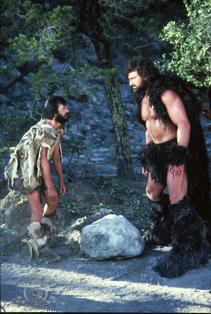 John Matuszak and Ringo Starr in Caveman (1981)