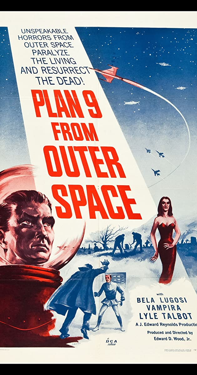 Plan 9 From Outer Space 1959 Goofs Imdb