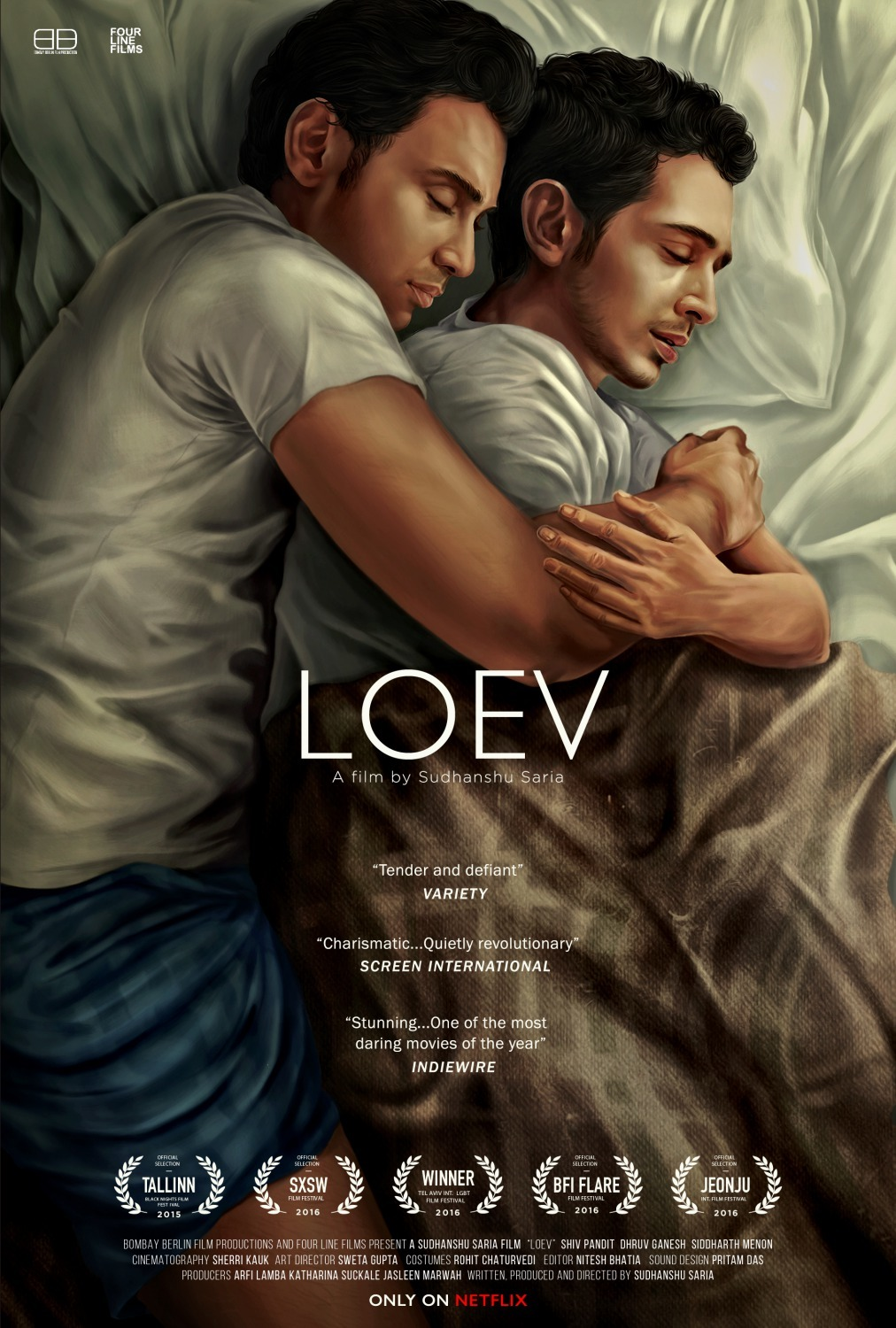 Shiv Panditt and Dhruv Ganesh in Loev (2015)
