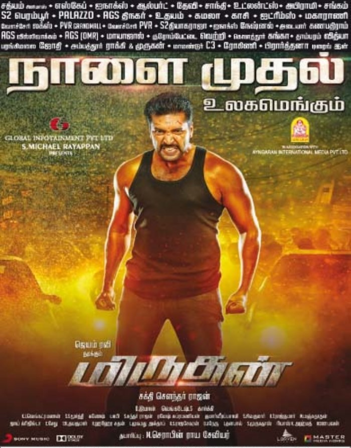Daring Rakhwala (Miruthan) (2018) Hindi Dubbed Movie [Hindi HDRip x264 1 GB