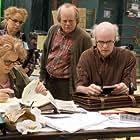 Philip Seymour Hoffman, Emily Watson, Tom Noonan, and Samantha Morton in Synecdoche, New York (2008)