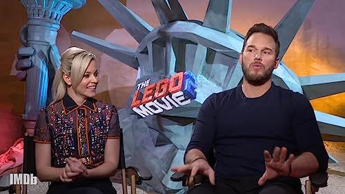 Chris Pratt and Elizabeth Banks Give Movies Lego Remakes