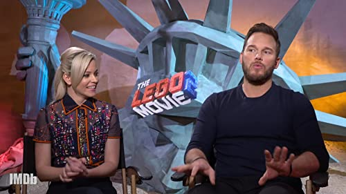 Chris Pratt and Elizabeth Banks Give Movies Lego Remakes