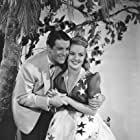 Betty Grable and Robert Cummings in Moon Over Miami (1941)