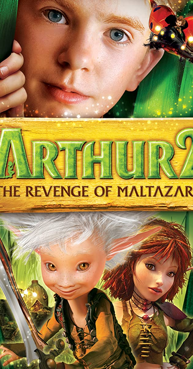 Subtitle of Arthur and the Great Adventure