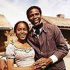 Louis Gossett Jr. and Brenda Sykes in Skin Game (1971)