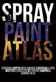 Spray Paint Atlas Poster