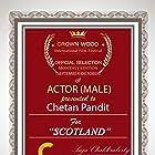 Chetan Pandit at an event for Scotland (2019)