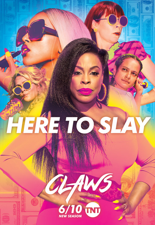 Niecy Nash, Carrie Preston, Judy Reyes, Jenn Lyon, and Karrueche Tran in Claws (2017)