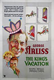 The King's Vacation (1933) Poster - Movie Forum, Cast, Reviews