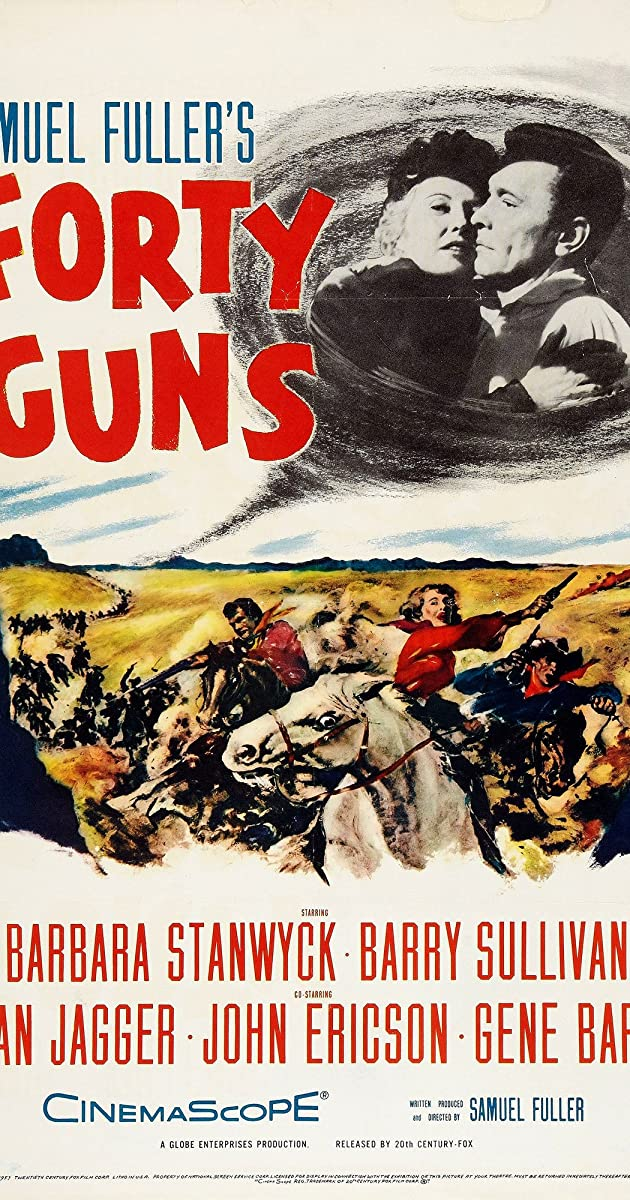 Subtitle of Forty Guns